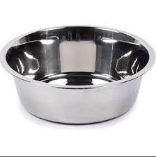 קערה נירוסטה מזון לכלב