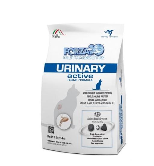 מזון רפואי לחתולים פורזה אקטיב URINARY מ 454 גרם