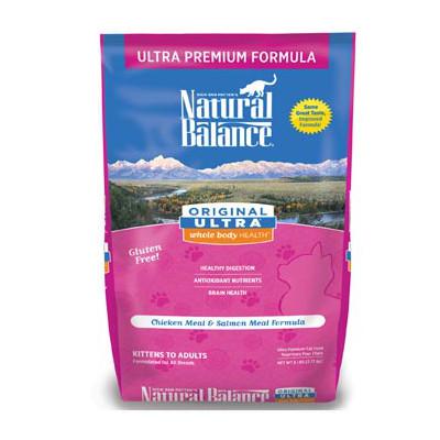 """נטורל באלנס מזון לחתול אולטרה פרמיום 2.72 ק""""ג Natural Balance Ultra"""