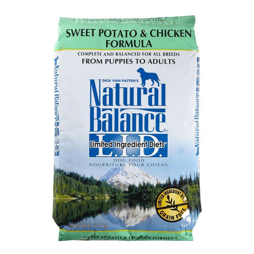 """נטורל באלנס עוף ובטטה מזון לכלב 11.8 ק""""ג Natural Balance Chicken & Sweet Potato"""