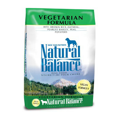 """נטורל באלנס מזון טבעוני לכלב 12.7 ק""""ג Natural Balance Vegetarian"""