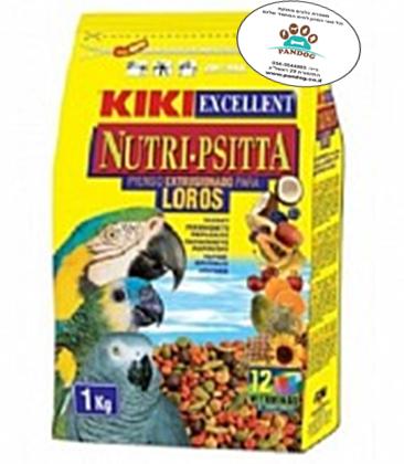 קיקי מזון לתוכי גדול 2.5 קילו Kiki Complete Food For Large Parrots
