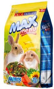 """קיקי מזון לארנב 5 ק""""ג KIKI Excellent Max Menu for Rabbit 5 k"""