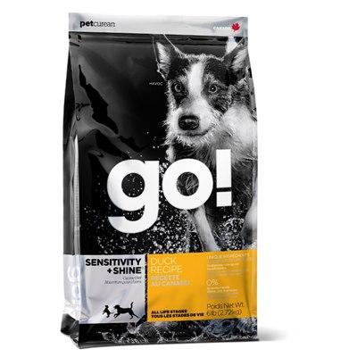 מזון לכלב גו – סנסטיב ברווז – לכלבים בוגרים מכל הגזעים GO 11.3