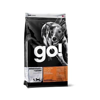 """מזון לכלבים גו סנסטיביטי סלמון 2.7ק""""ג GO! Sensitivity + Shine Salmon"""
