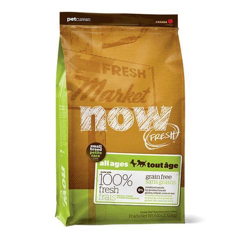 מזון לכלב נאו – הודו סלמון וברווז ללא דגנים – לכלבים בוגרים מגזע קטן NOW 11.34
