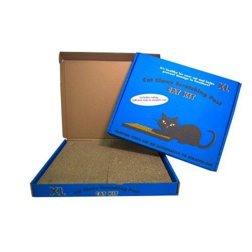 משטח גירוד כחול לחתול XL