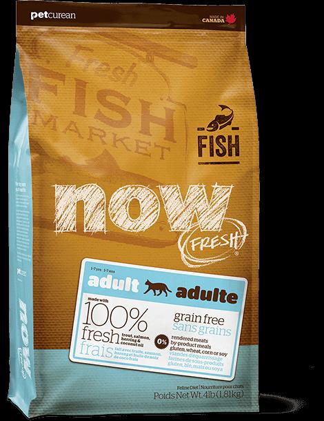"""מתכון דגים ללא דגנים לחתולים בוגרים 3.63 ק""""ג"""