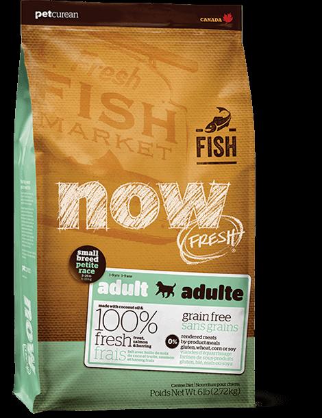 """מתכון דגים ללא דגנים לכלבים בוגרים מגזעים קטנים 2.72 ק""""ג"""