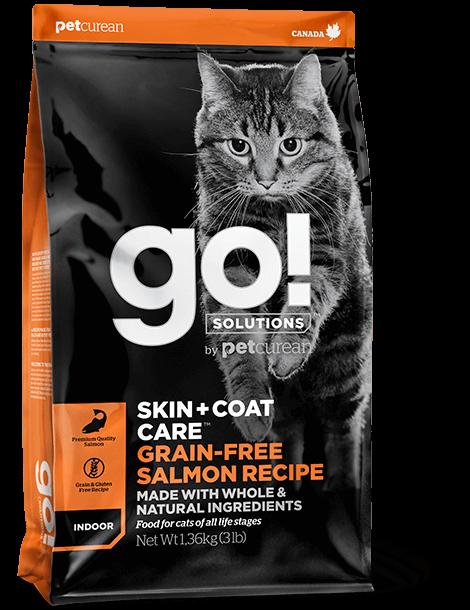 """מתכון סלמון ללא דגנים לחתולים 7.3 ק""""ג"""