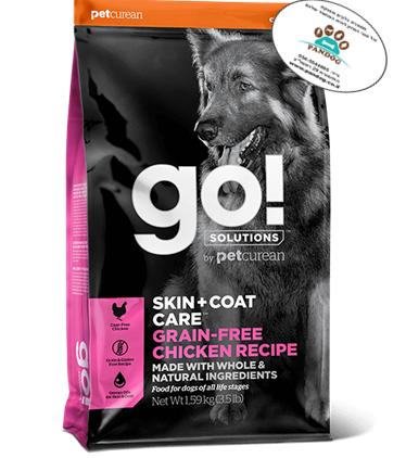 "GO – מתכון עוף ללא דגנים 1.6 ק""ג"