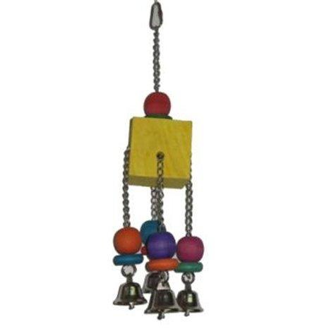 צעצוע לתוכי קוביה פעמונים