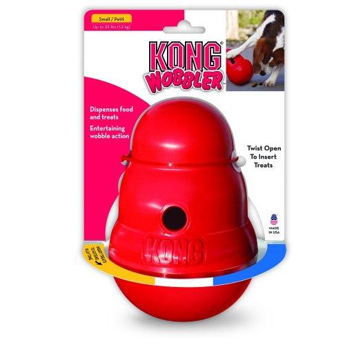 קונג וובלר S צעצוע האכלה איטית לכלב.