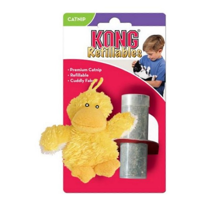קונג לחתול בובת קטניפ