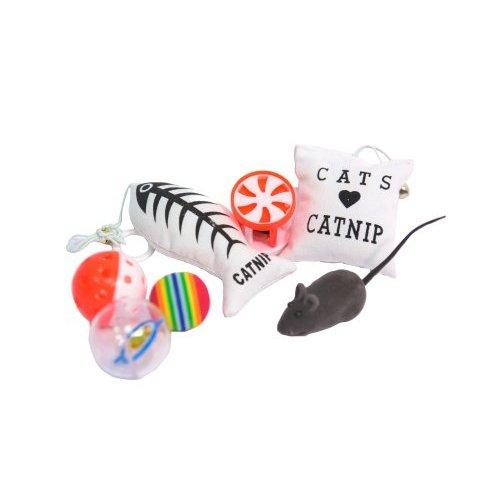 קיט 7 צעצועים לחתול