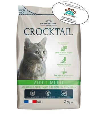"""לחתול – קרוקטל אדולט מולטי- 2 ק""""ג"""